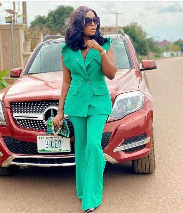 Blessing Okoro ex-husband abused