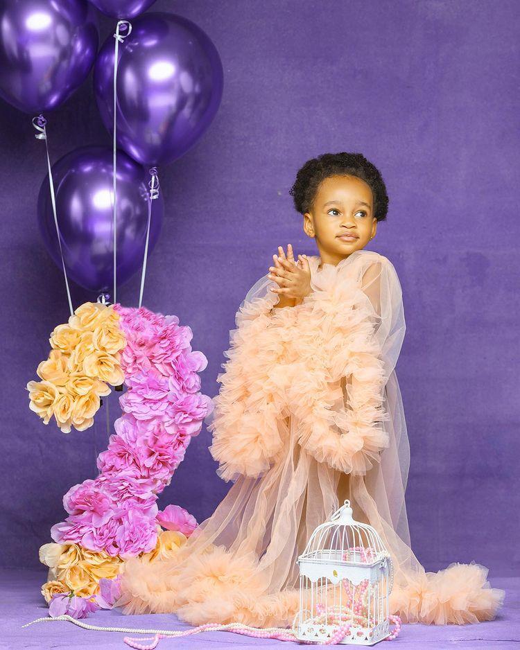 Actress, Ruth Kadiri celebrates daughter's second birthday