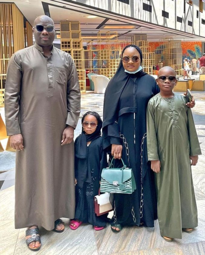Billionaire, Mompha gifts his kids iPhone 13 worth N1M each (Video)