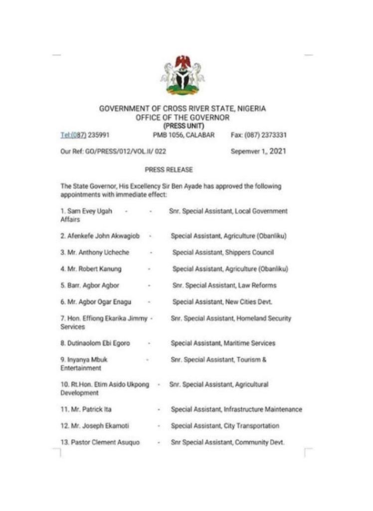 Iyanya Political appointment