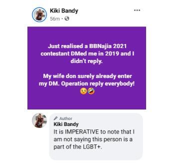 Kiki Bandy news today