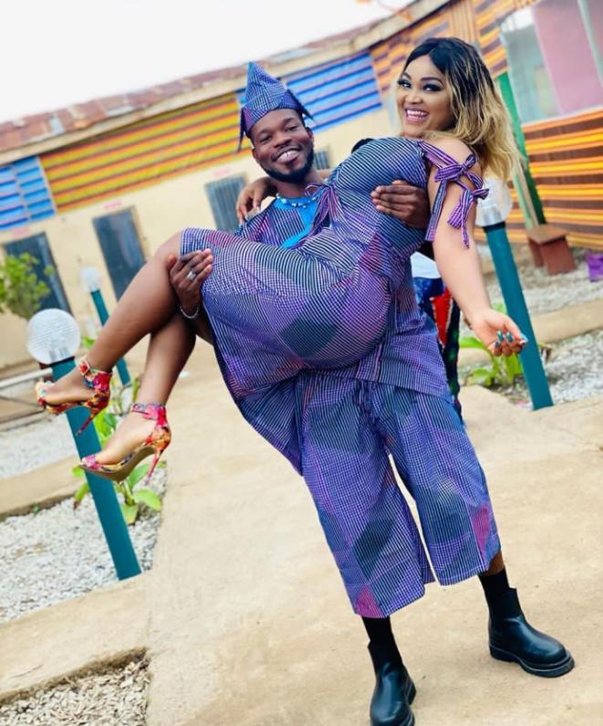 Broda Shaggi and Mercy Aigbe relationship