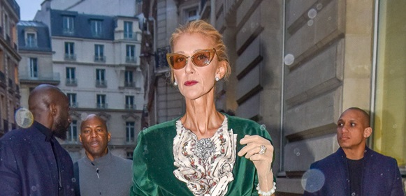 Celine Dion fires back at those who say she's too skinny