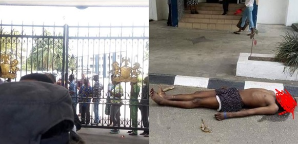 Angry motorcyclists break into Cross River state governor's office, dump corpse of colleague