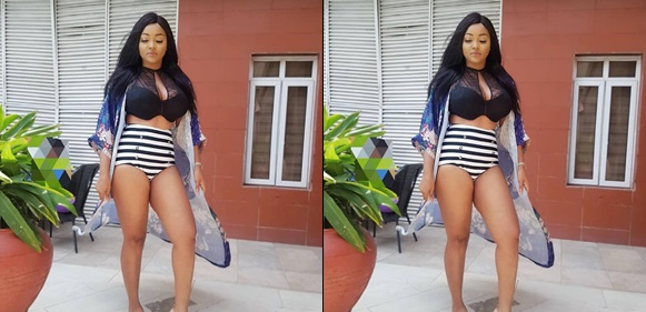 Photo: Mercy Aigbe shows off her banging bod in sexy swimwear