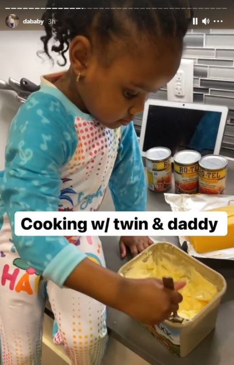 dababy cooking