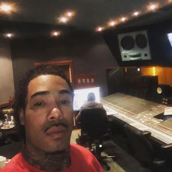 Gunplay at the studio