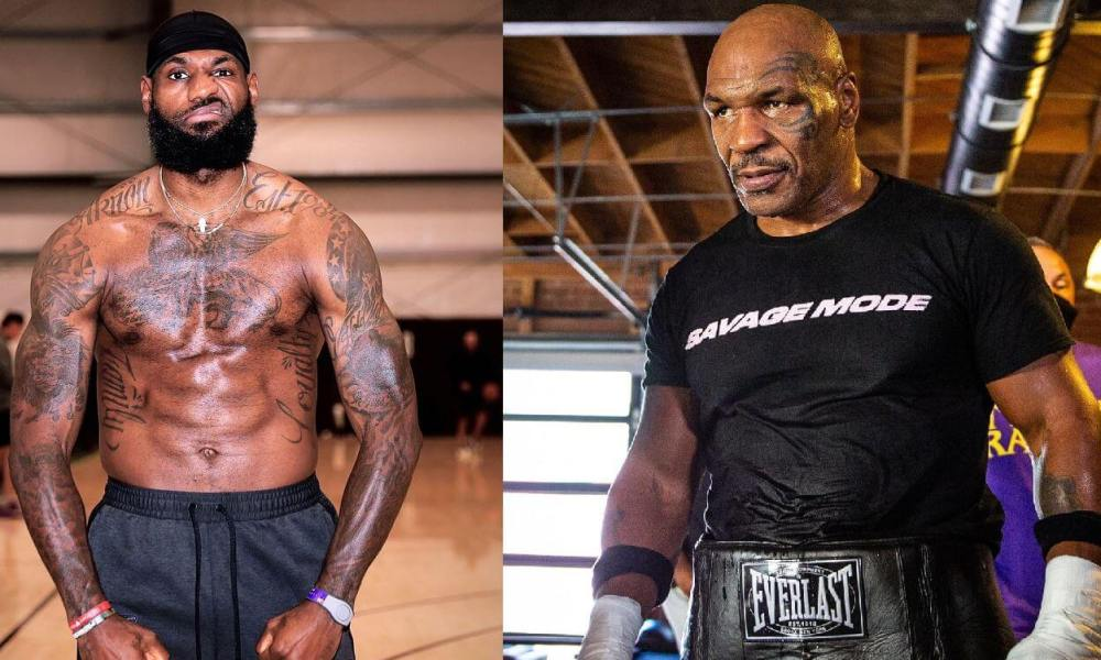 LeBron James vs Mike Tyson