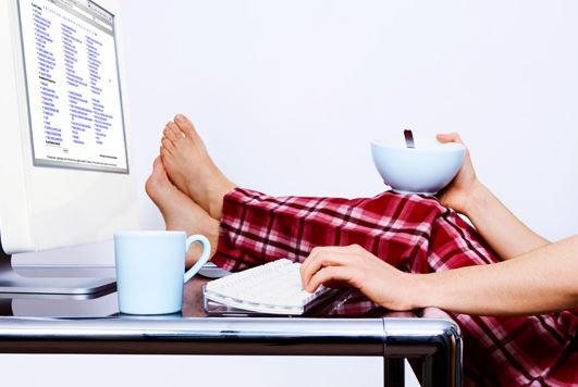 Tips for working from home Credit: Actionablebooks