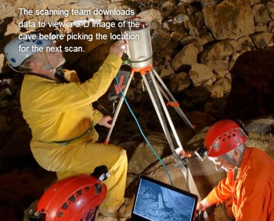 breathtaking virtual tour of a supercave -- new from Nat Geo's July issue