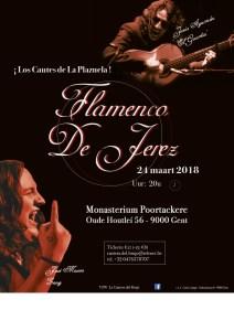 Flamenco De Jerez @ Monasterium Poortackere | Gent | Vlaanderen | België