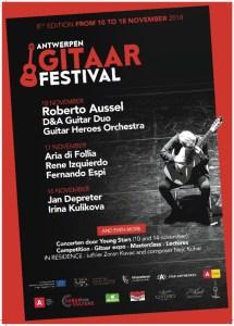 Antwerpen Gitaarfestival • Guitar Mania @ CC Deurne | Antwerpen | Vlaanderen | België