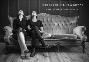 Concert fluit & gitaar - Duo Anke Lauwers & Danièle Van Os @ Kapel Lantschot | Antwerpen | Vlaanderen | België