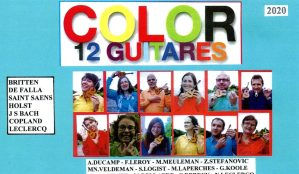 color 12 guitares @ eglise saint martin 7350 thulin | Hensies | Wallonie | België