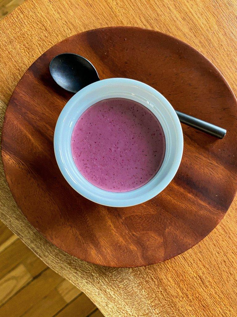 Hibiscus Panna Cotta recipe