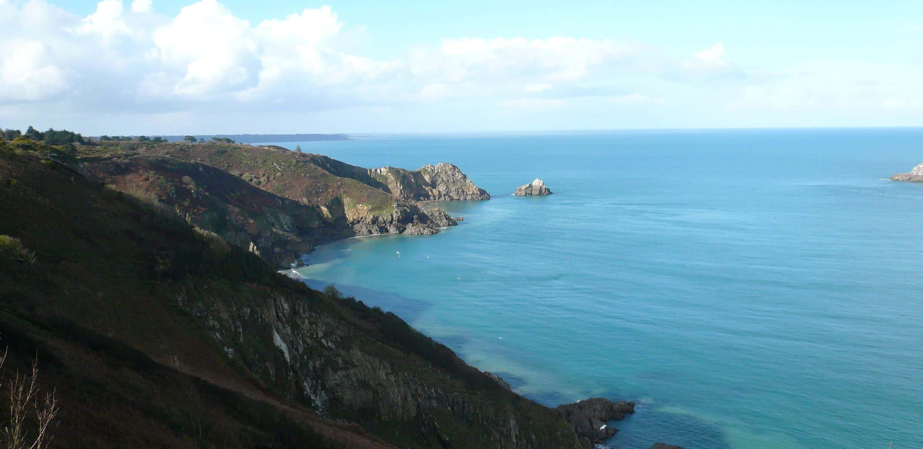 Prise de vue de la sublime Côte Bretonne situer a moins de 30 km du gîte