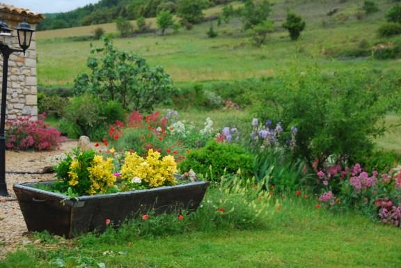Gîte-en-Provence le jardin