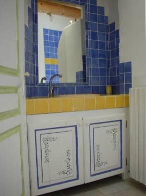 Gîte-en-Provence salle de bains