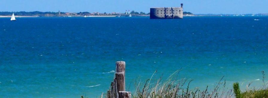 Fort Boyard vu de l'île d'Oléron