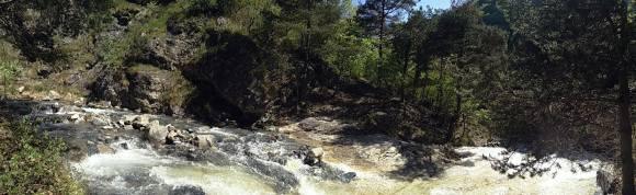 torrente Rocciamelone che attraversa l'Orrido di Foresto