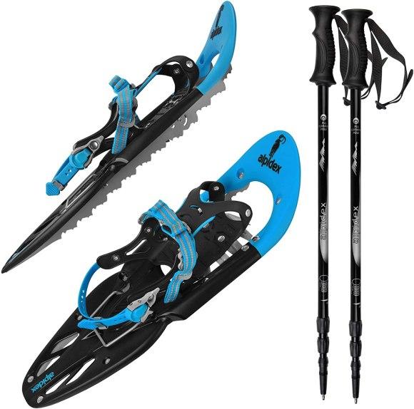 Alpidex è un modello top di gamma delle racchette da neve