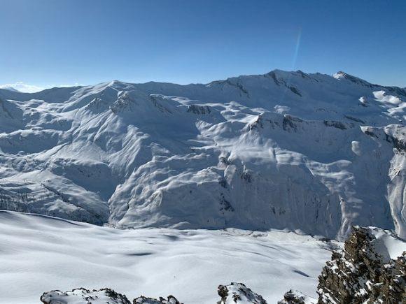 montagne francesi vicino al confine italiano