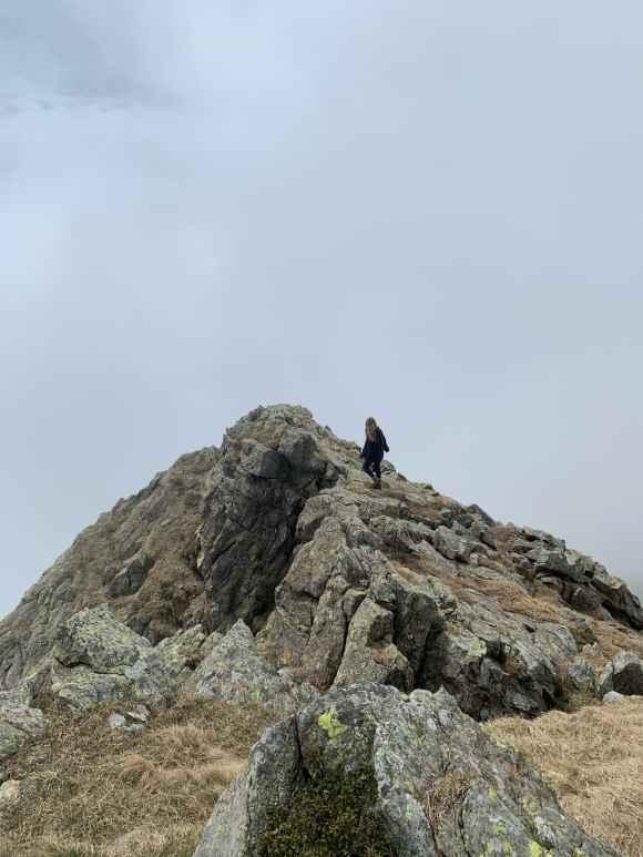 cresta in Alpe Bianca di Viù