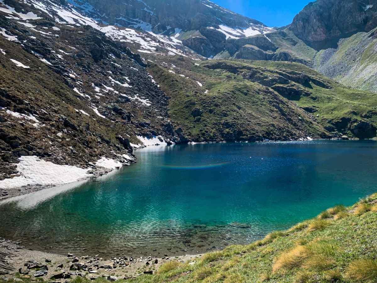Vista laterale sul lago lavodilec