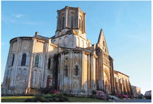 Eglise de Vouvant Vendée