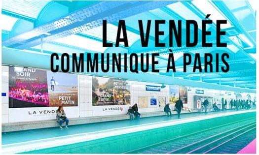 La Vendée communique à Paris