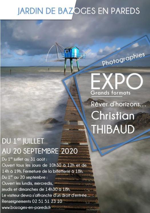 Exposition Christian Thibaud Donjon de Bazoges-en-Pareds