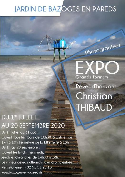 Exposition Christian Thibaud Donjon de Bazoges-en-Pareds