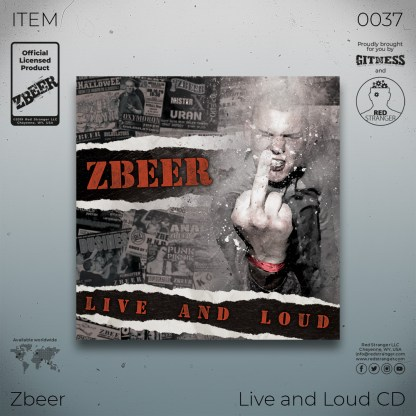 Zbeer Live and Loud CD