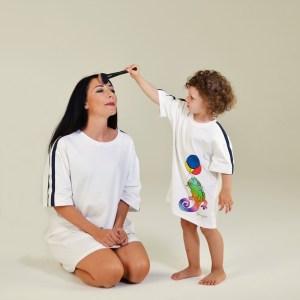 coordinato mamma e bimba