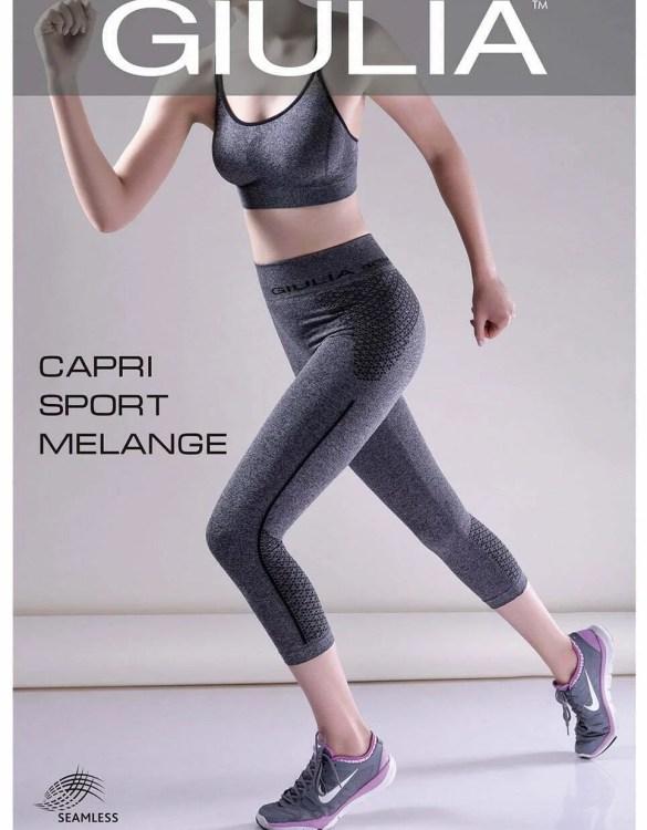 GIULIA CAPRI SPORT MELANGE MODEL 2 női sportnadrág