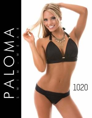 PALOMA fekete kötős bikini 1020