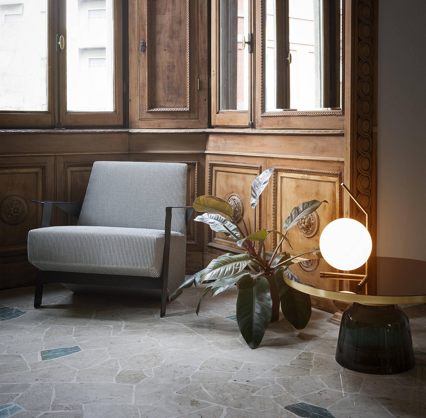 Lights for elegant interiors low table lamp