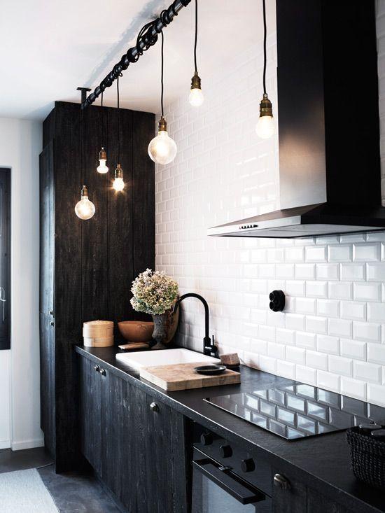 Lights for elegant interiors pendant over kitchen