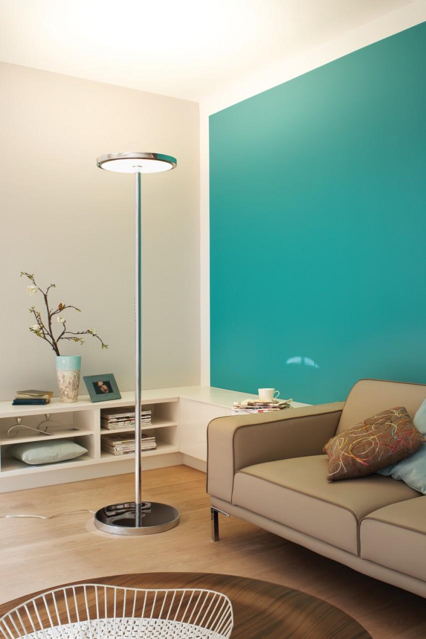 floor light uplight to raise your ceiling