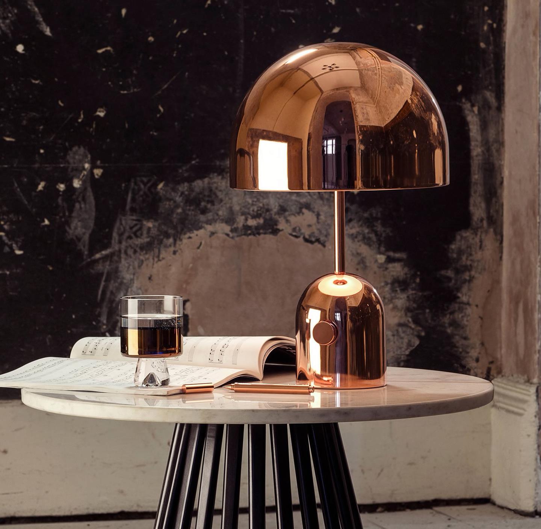 lights for elegant interiors copper table lamp