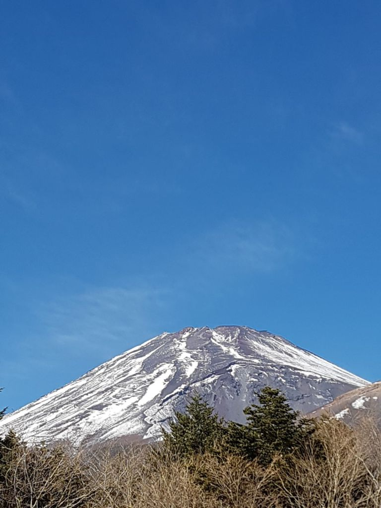 Vista del Monte Fuji dalla seconda stazione