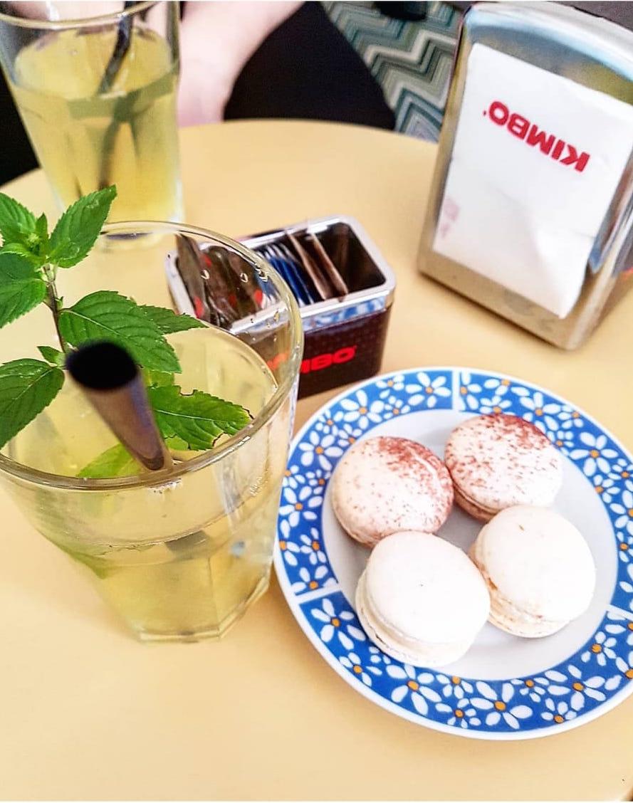 Millefoglie Macaron & Tea (foto di Giulia Magagnini)