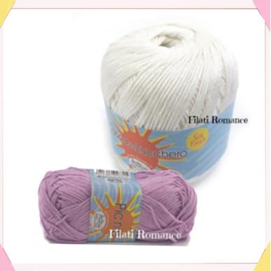 Photo: used yarn - Giulia Pinky Time
