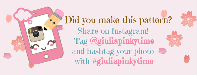 Share your photo on Instagram using the hashtag #giuliapinkytime
