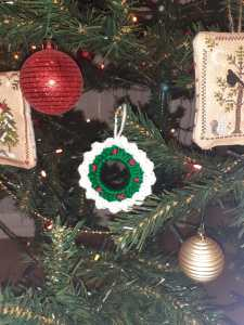 mini ghirlanda di Natale - foto | Giulia PInky Time