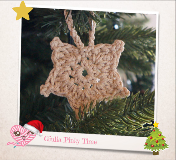 crochet star | Giulia Pinky Time