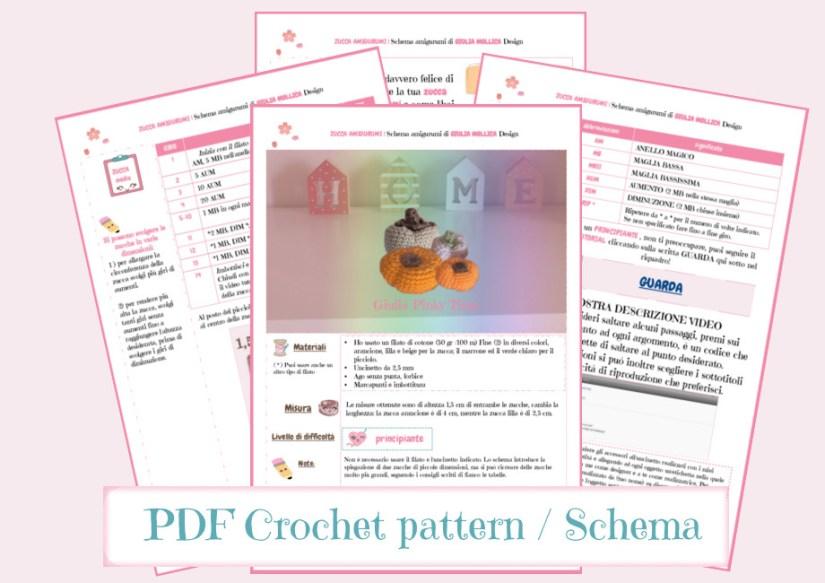printable pattern on Ravelry - amigurumi small pumpkin