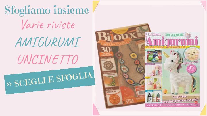 Blog - sfogliamo insieme riviste sul tema uncinetto e amigurumi