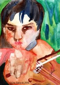 Io e il violino