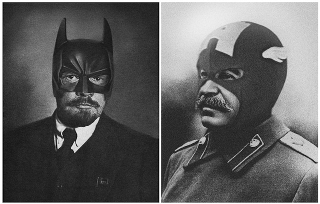 Joseph Stalin and Lenin - Superhistory by Agan Harahap